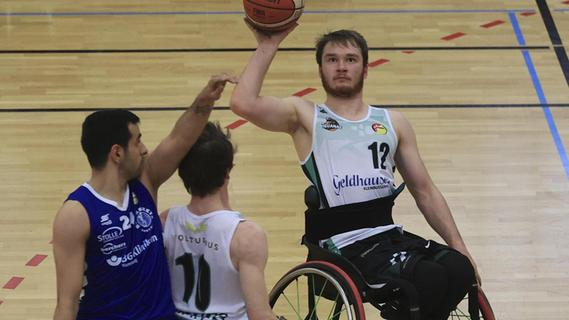 EM-Ticket für Rollstuhl-Basketballer Lukas Gloßner