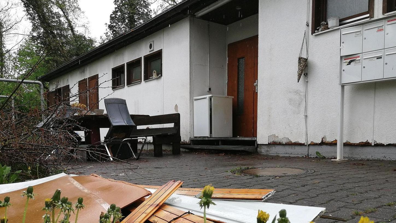 Die Obdachlosenunterkunft in Roth bietet 24 wohnungslosen Menschen Platz, die Belegung variiert ständig.