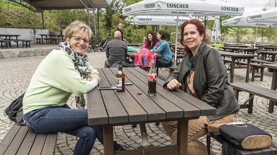 In ERH haben die Biergärten wieder offen