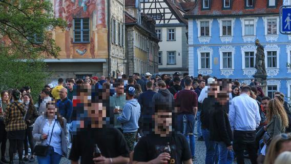 Party und Randale in Bamberg: Untere Brücke wird zum Brennpunkt