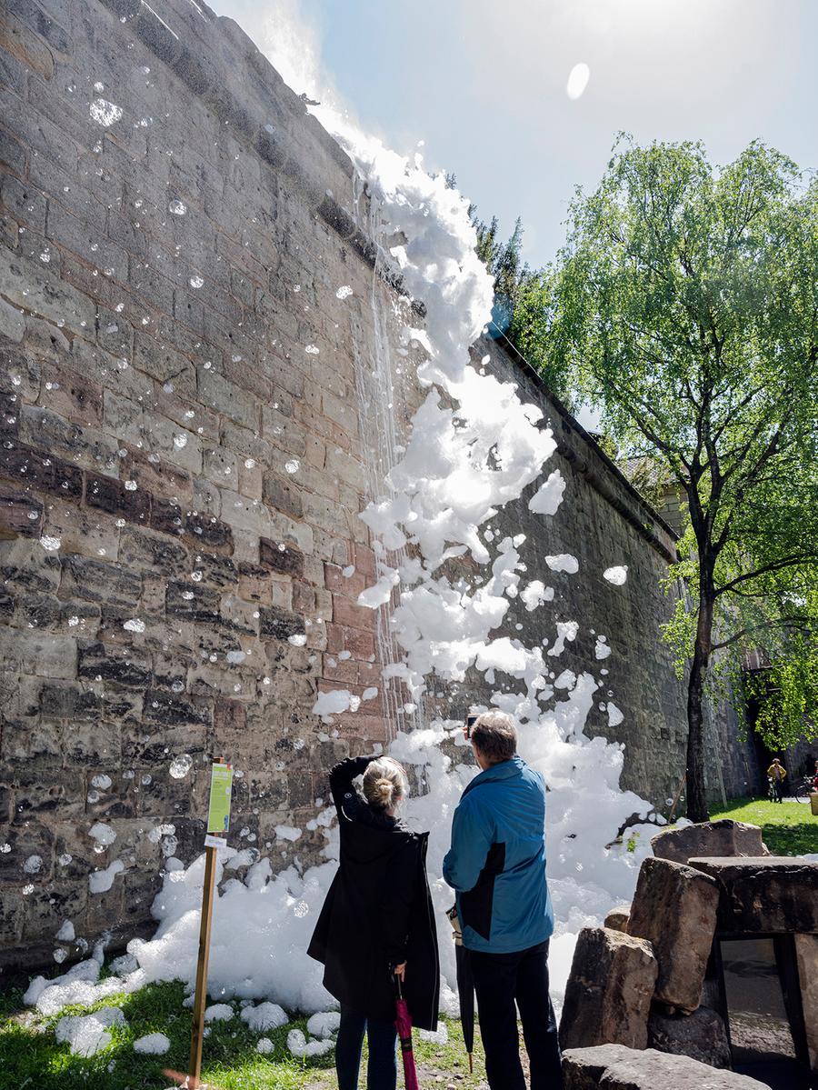 Foto: Rudi Ott, Übermittelt von foto@rudi-ott.de, gesp.5/2021..Motiv: Nürnberg - Kunst - Kunstparcours