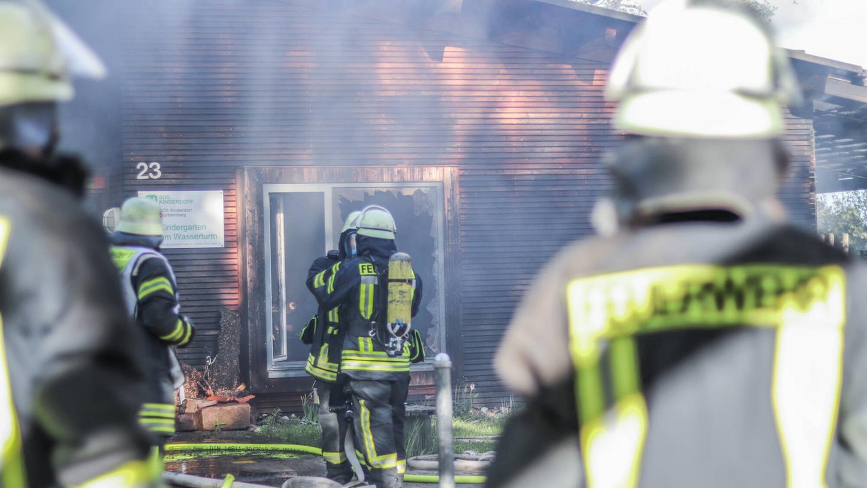 Für ihren Mut werden Feuerwehrleute bewundert. Doch hier wurden Brände aus  Freude am Löschen gelegt.