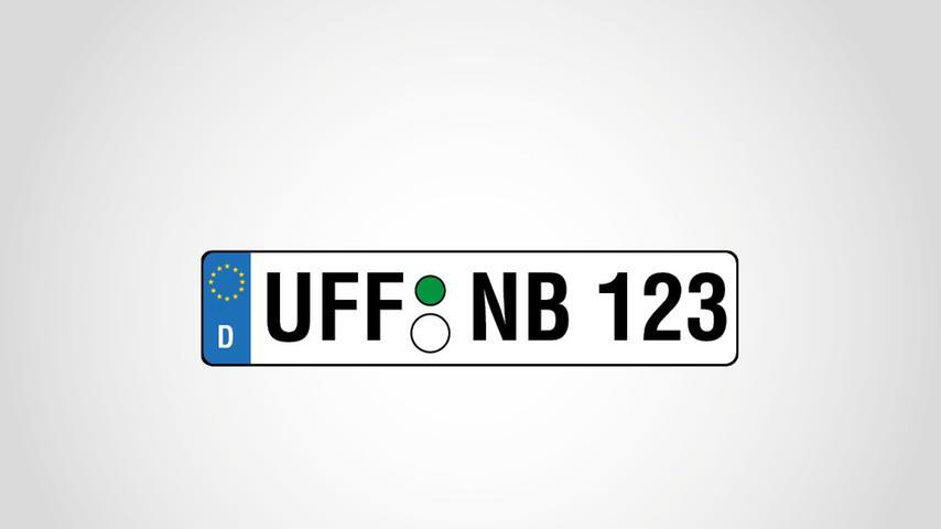 Auch der westlichste Landkreis in Mittelfranken, Neustadt/Aisch-Bad Windsheim, hat die Altkennzeichen UFF (Altlandkreis Uffenheim) und SEF (Altlandkreis Scheinfeld) wieder zugelassen. Beide Kennzeichen waren zur Einführung 2013 besonders beliebt. Im ersten Jahr stieg der UFF-Bestand um 707 und der des SEF-Kennzeichens um 668. Ihr Anteil am Gesamtbestand ist mit 4,6 (UFF) und 3,1 (SEF) Prozent allerdings gering.