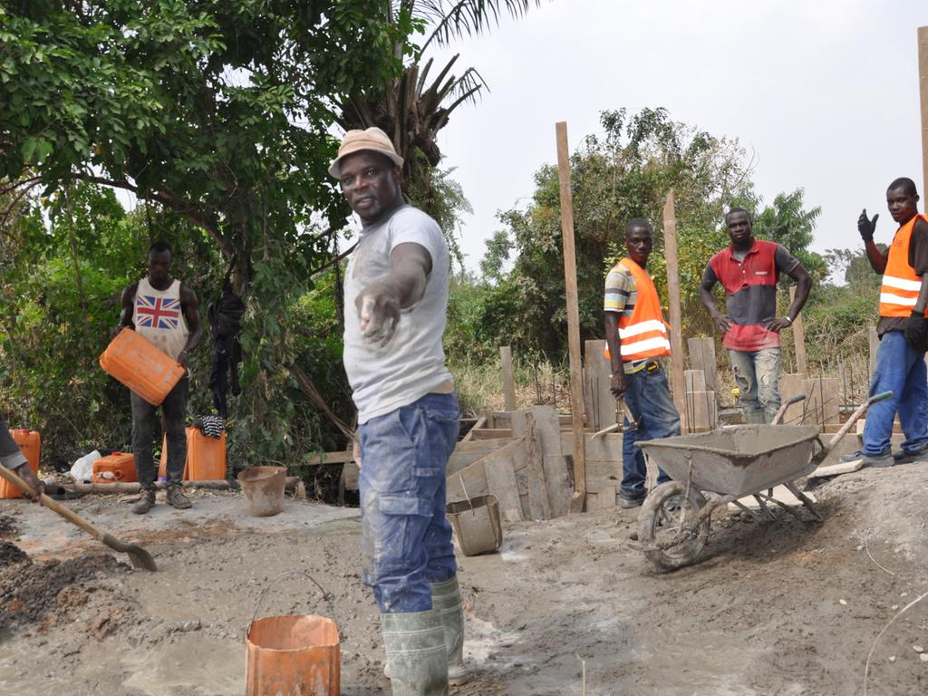 Neumarkt; 27.01.2021; Hilfsprojekt Schulküche in Bassar/ Togo; ; Foto: David Djore