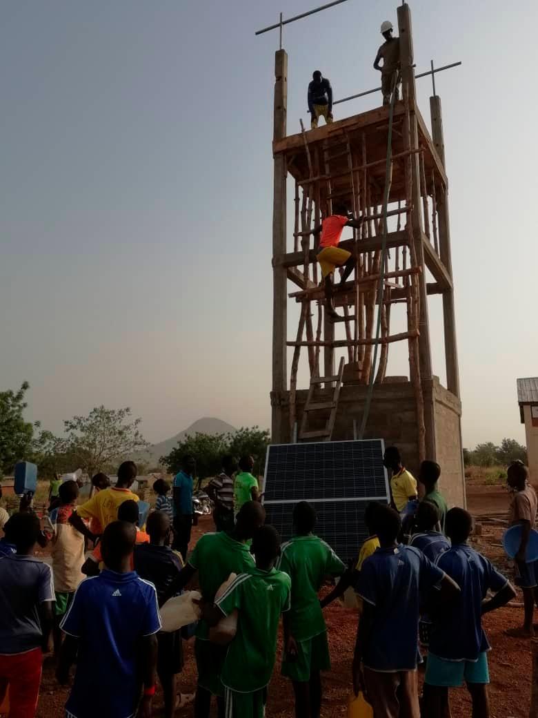 Neumarkt; 04.05.2021; Hilfsprojekt Schulküche in Bassar/ Togo; ; Foto: David Djore