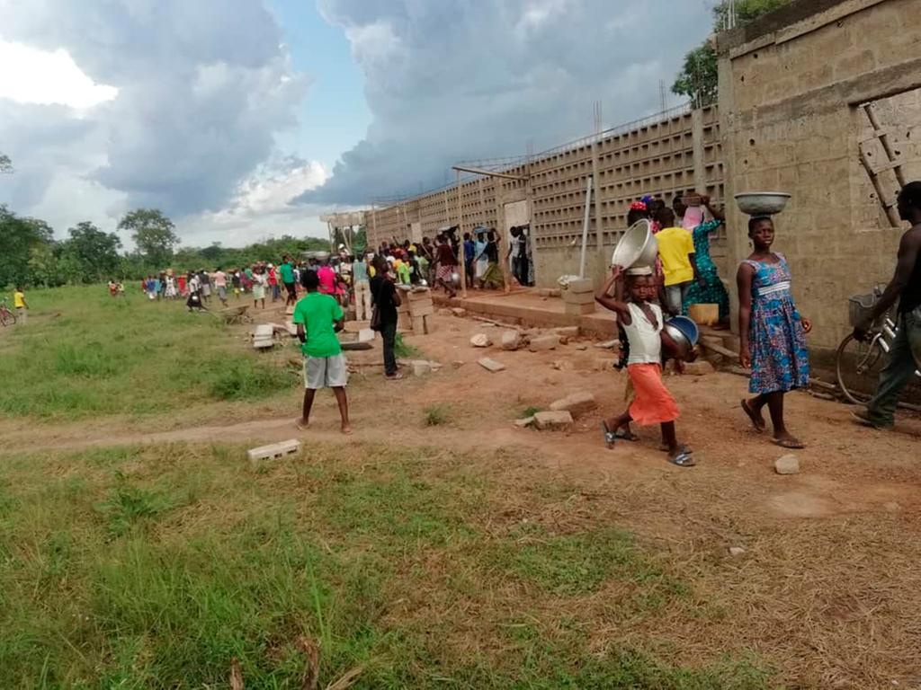 Neumarkt; 03.05.2021; Hilfsprojekt Schulküche in Bassar/ Togo; ; Foto: David Djore