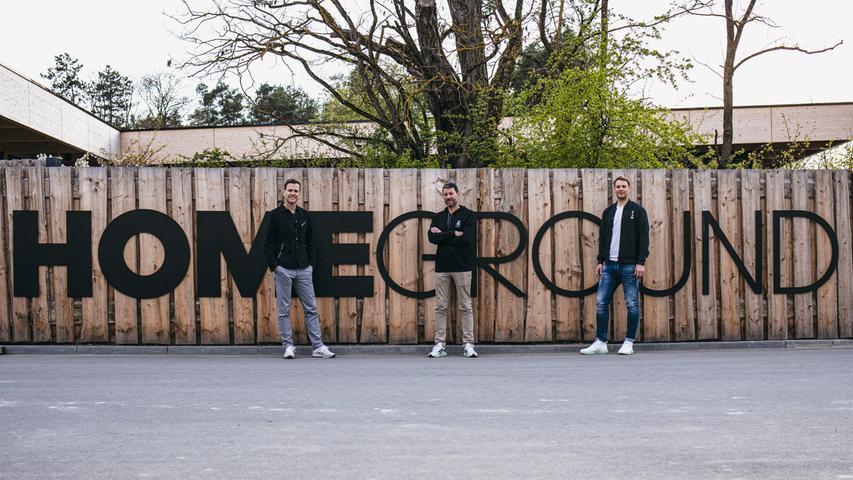 Sind begeistert (v.l.): adidas-Chef Kasper Rorsted, DFB-Direktor Oliver Bierhoff und Torhüter Manuel Neuer.