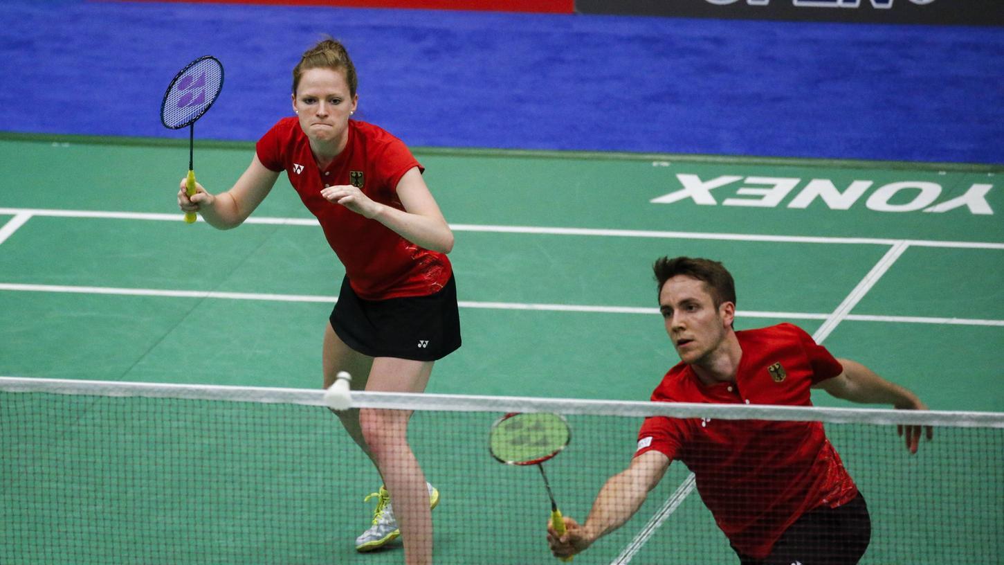 Dürfen sich seit gestern auf Olympia vorbereiten: Isabel Herttrich (links) mit ihrem Doppel-Partner Mark Lamsfuß.