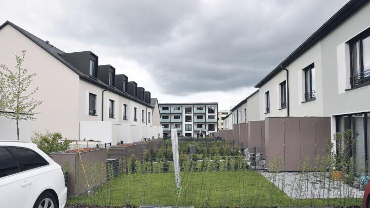 Um rund 25 Prozent sind die Baulandpreise im Nürnberger Land, vor allem in den größeren Orten und in der Nähe von Nürnberg, seit 2018 gestiegen. Das Foto zeigt einen Blick in eines der größten Neubaugebiete im PZ-Land, das Gebiet Steinberg in Röthenbach.