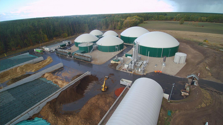 Eine Biogasanlage der UDI: Anlegern, die mit Investitionen in nachhaltige Produkte auf eine gute Rendite hofften, droht nun in Teilen der Totalverlust.