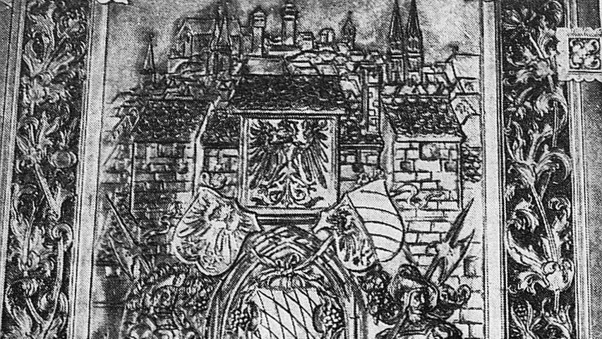Das Goldene Buch der Stadt Nürnberg ist ein stolzes und gewiß auch ein pompöses Produkt der Buchbinderkunst.Hier geht es zum Kalenderblatt vom 23. Mai 1971: Das Goldene Buch der Stadt beginnt mit Kaiser Wilhelm