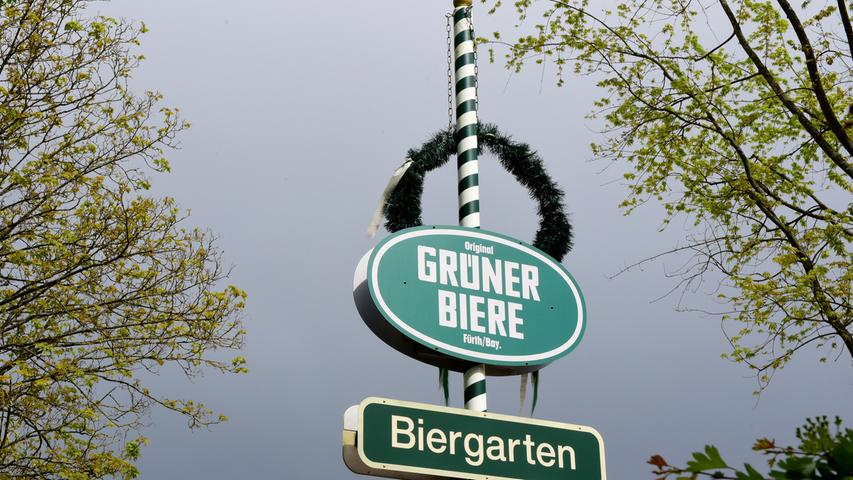 FOTO: Hans-Joachim Winckler DATUM: 18.5.2021  MOTIV: Im Landkreis Fürth hat die Außengastronomie wieder geöffnet - Zennoase Langenzenn