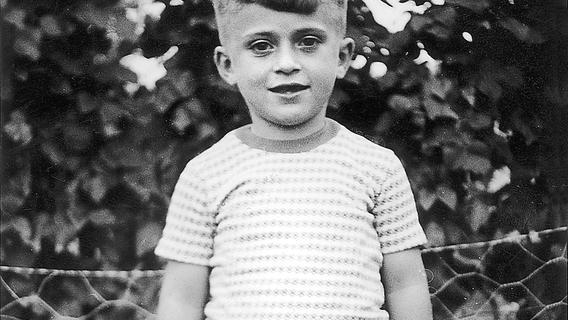 Beschauliche Kindheit im Nürnberger Stadtteil Altenfurt. Diese Aufnahme entstand1959 .