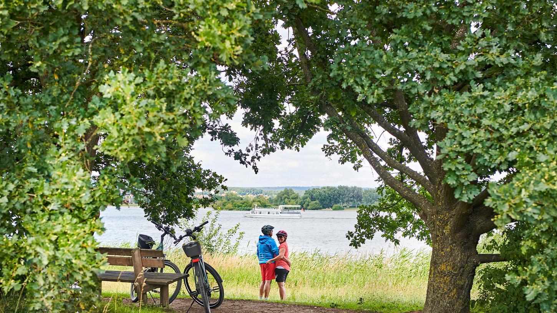 Auch im fränkischen Seenland freuen sie sich auf Gäste.