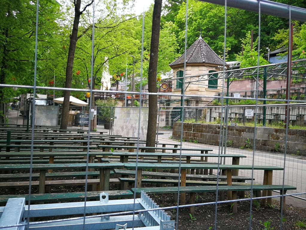 Bergkirchweih Gelände 2021 Foto: Stefan Mößler-Rademacher