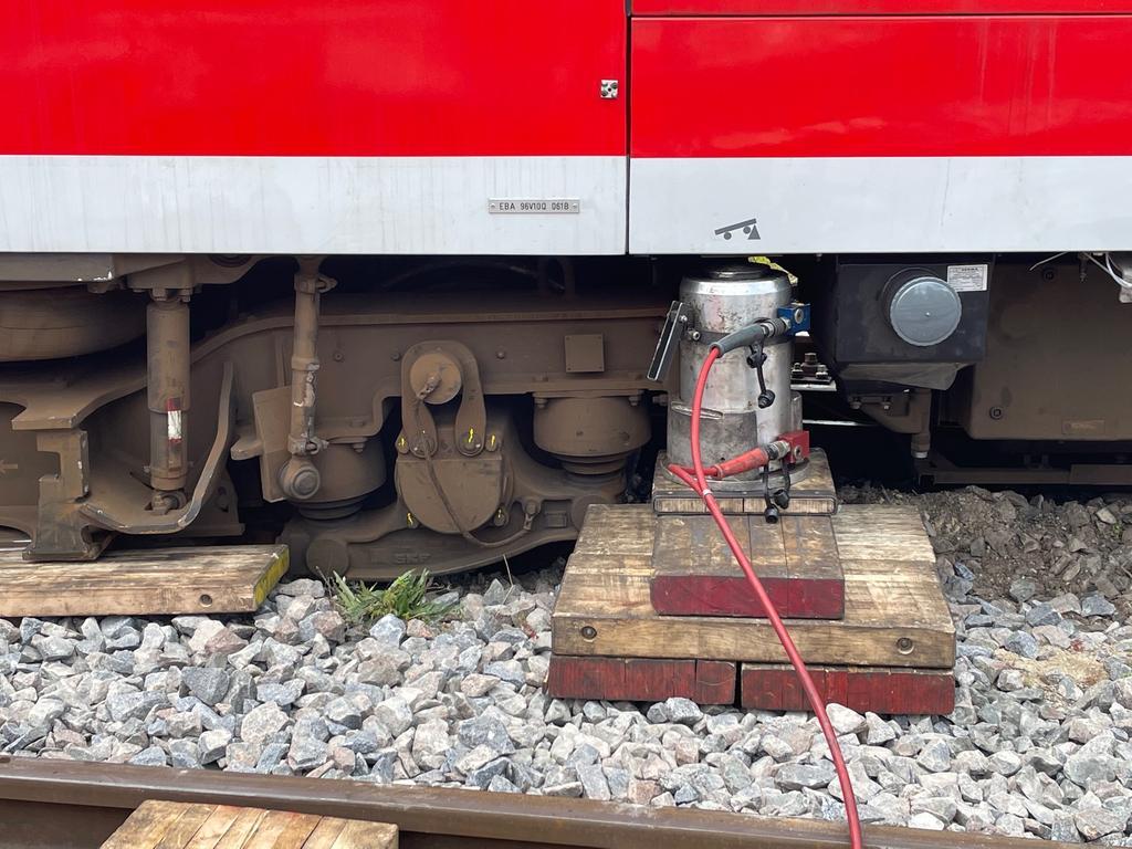 Zug entgleist Markt Erlbach