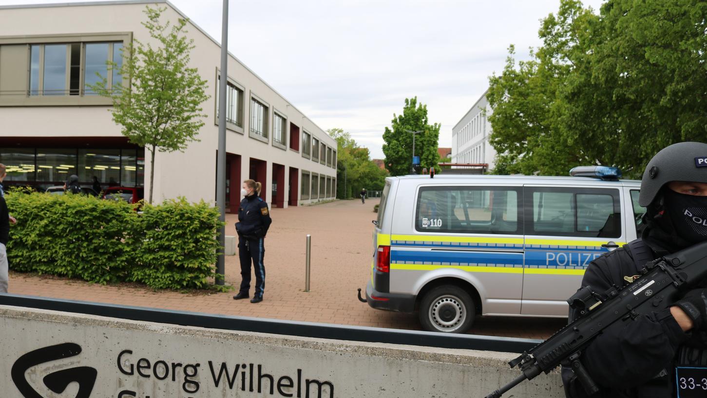 Am Tag vor den Prüfungen im dritten Abiturfach ging eine Drohmail am Bad Windsheimer Stellergymnasium ein.