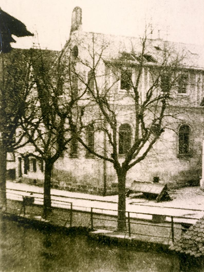 Ressort: Forchheim..Foto: privat..Motiv: Forchheim Synagoge..Datum: