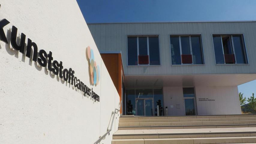 Der Kunststoffcampus in Weißenburg entwickelt sich