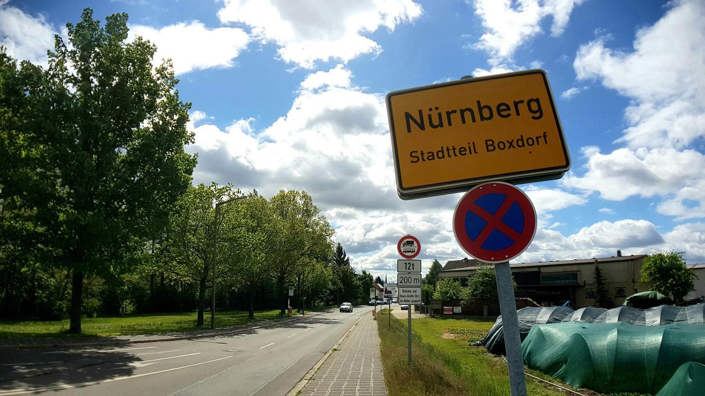 Hier in der Erich-Ollenhauer-Straße in Boxdorf sollen 100 neue Wohnungen entstehen.