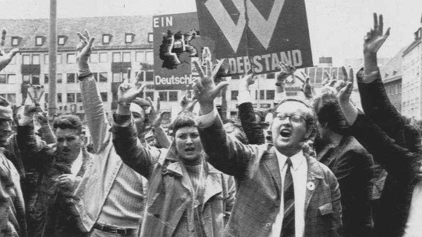 Sudetendeutsche sorgten selbst dafür, dassihr Nürnberger Treffen nicht von rechtsradikalen Kräften missbraucht wird. Hier geht es zum Kalenderblatt vom1. Juni 1971: Gegen die radikalen Kräfte.