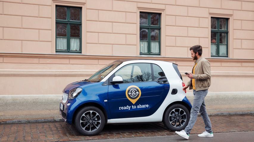 2017 begann in Deutschland das Carsharing-Angebot.