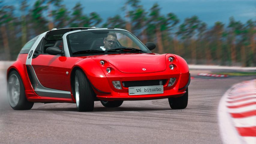 Der zweisitzige Roadster durfte nur von 2003 bis 2005 bleiben.