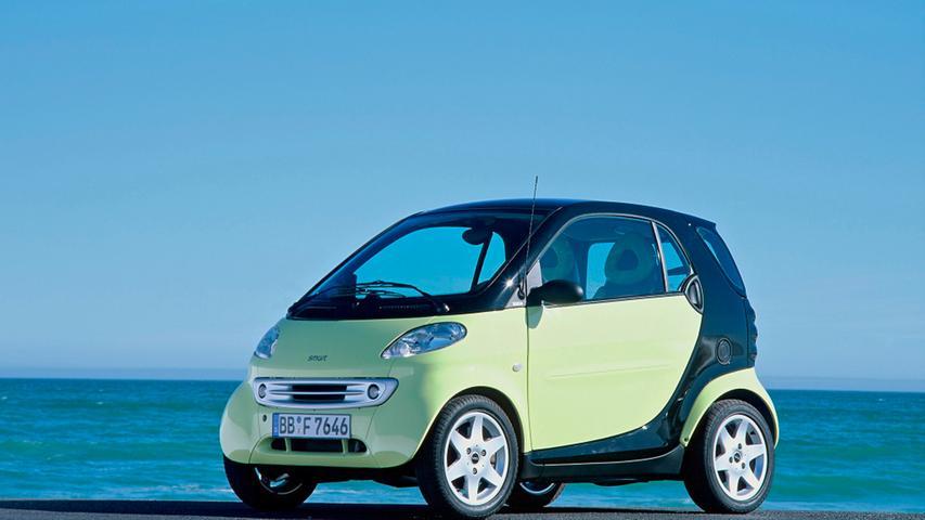 Der erste Smart kam im Jahr 1998 auf den Markt - 23 Jahre ist das mittlerweile her.