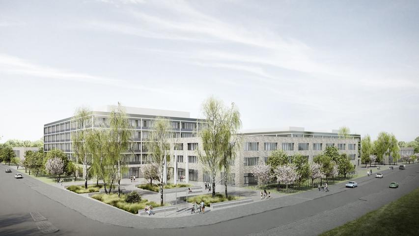 Gigantische Baustelle: Arbeiten am Schulzentrum Südwest beginnen