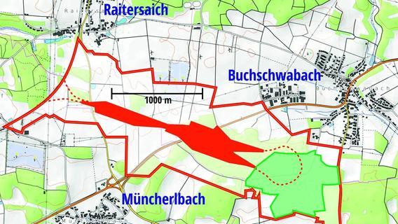 ICE-Werk: Buchschwabach bangt um seinen Kirchenwald