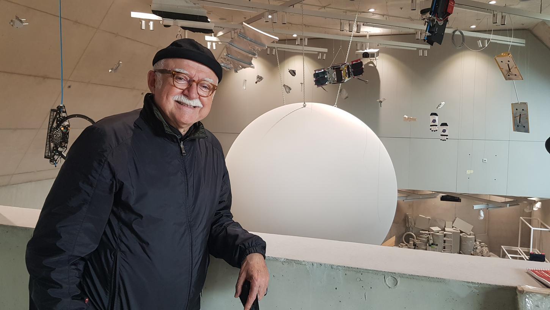 Kurz vor dem runden Geburtstag: Gerd Schmelzer im Zukunftsmuseum des neuen Augustinerhofs.