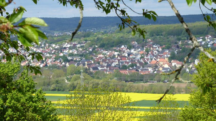 Aufgenommen am Walberla hat NN-Leser Norbert Haselbauer den Blick auf das Wiesenttal mit seinen schönen gelben Rapsfeldern. Im Hintergrund Forchheim und sein Ortsteil Reuth.