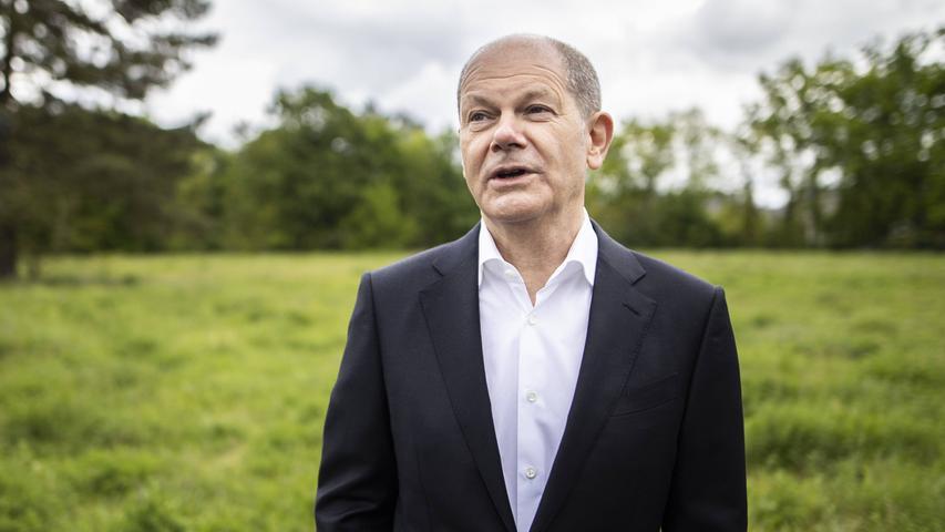 Olaf Scholz lebt mit seiner Frau Britta in Potsdam, dort hat er auch seinen Wahlkreis.