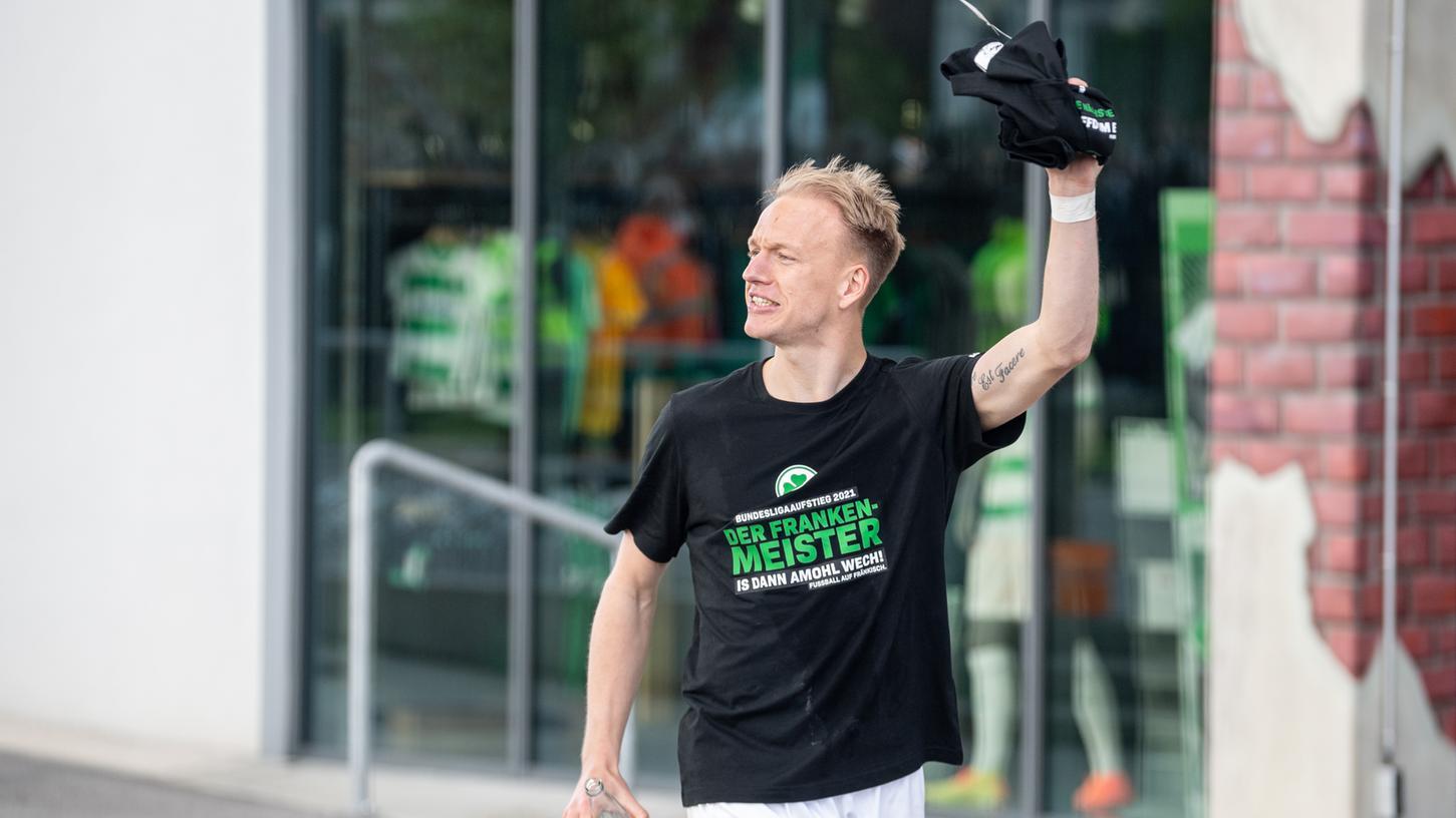 Bleibt bei der Spielvereinigung: Aufstiegs-Stürmer Havard Nielsen hat seinen Vertrag verlängert.