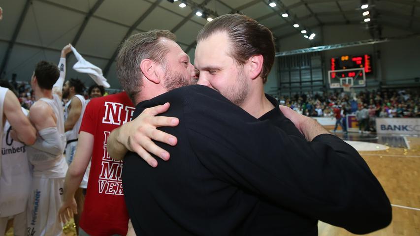 In Nürnberg zu Freunden geworden: Ralph Junge (links) mit Vytautas Buzas.