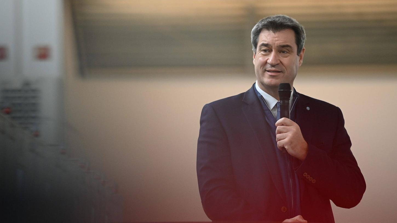 Steht am 9. Juni ab 19 Uhr Rede und Antwort: CSU-Chef Markus Söder.