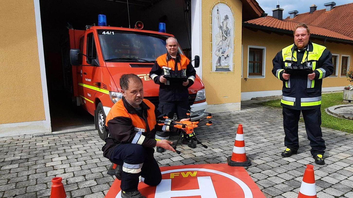 Drohnen-Streit beigelegt: Nitzlbucher Feuerwehr darf endlich fliegen