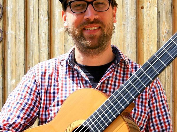 """André Herteux aus Egloffstein hat das Stück """"Connected"""" komponiert."""