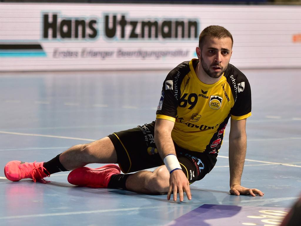 02.06.2021 --- Handball --- 1. Bundesliga LIQUI MOLY HBL --- Saison 2020 2021 --- 33. Spieltag: HC Erlangen Metropolregion Nürnberg HCE - HSC Coburg --- Foto: Sport-/Pressefoto Wolfgang Zink / OGo --- ..Milos Grozdanic (69, HSC 2000 Coburg )