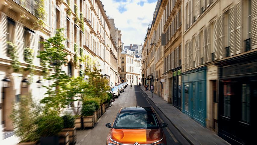 Citroëns ganzer Stolz ist die neue Advanced-Comfort-Federung mit progressivem hydraulischem Anschlag.