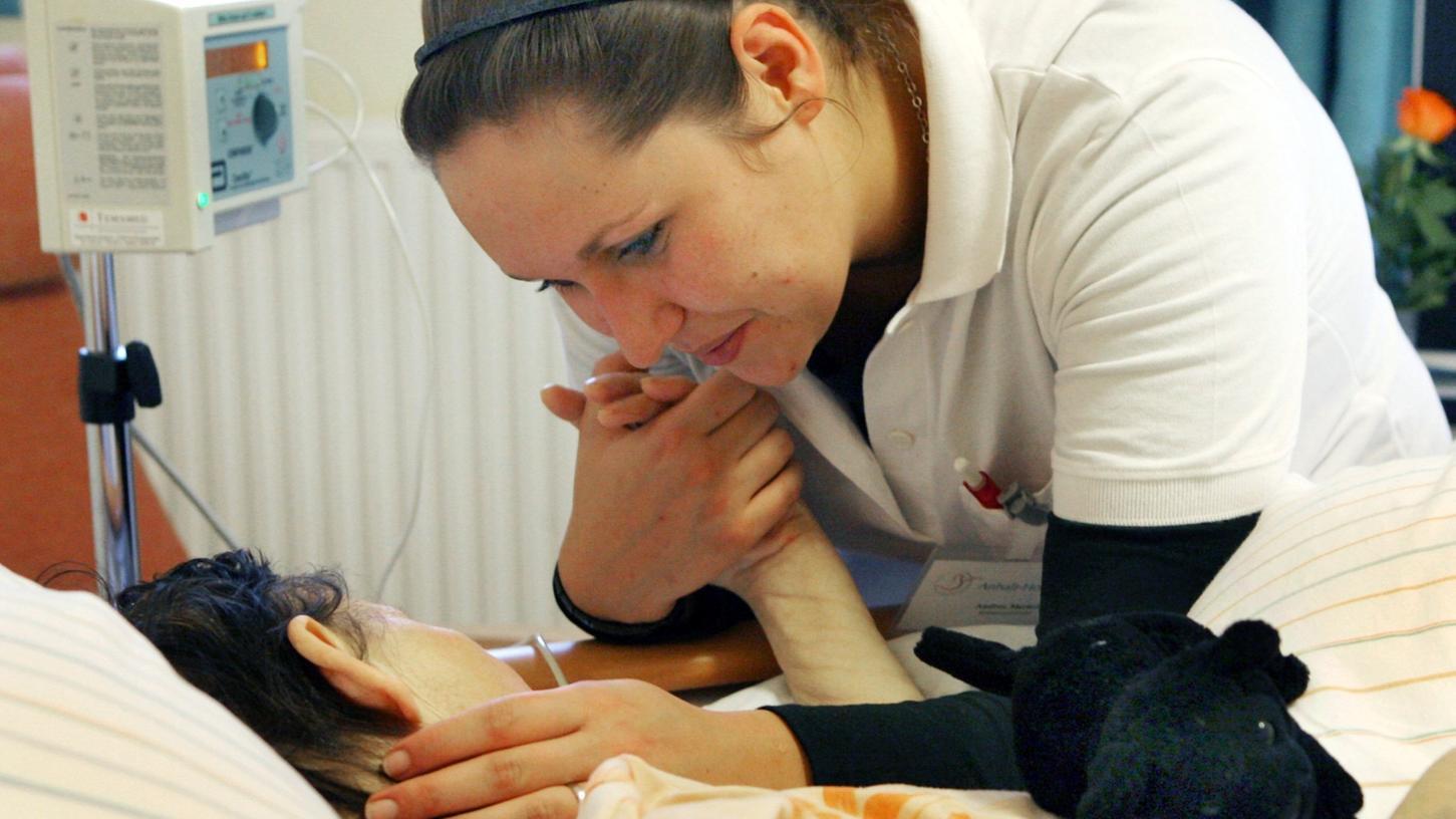 Eine liebevolle Begleitung in der letzten Phase des Lebens, das wollen der Hospizverein Fürth und das Palliativ-Care Team Fürth bieten.