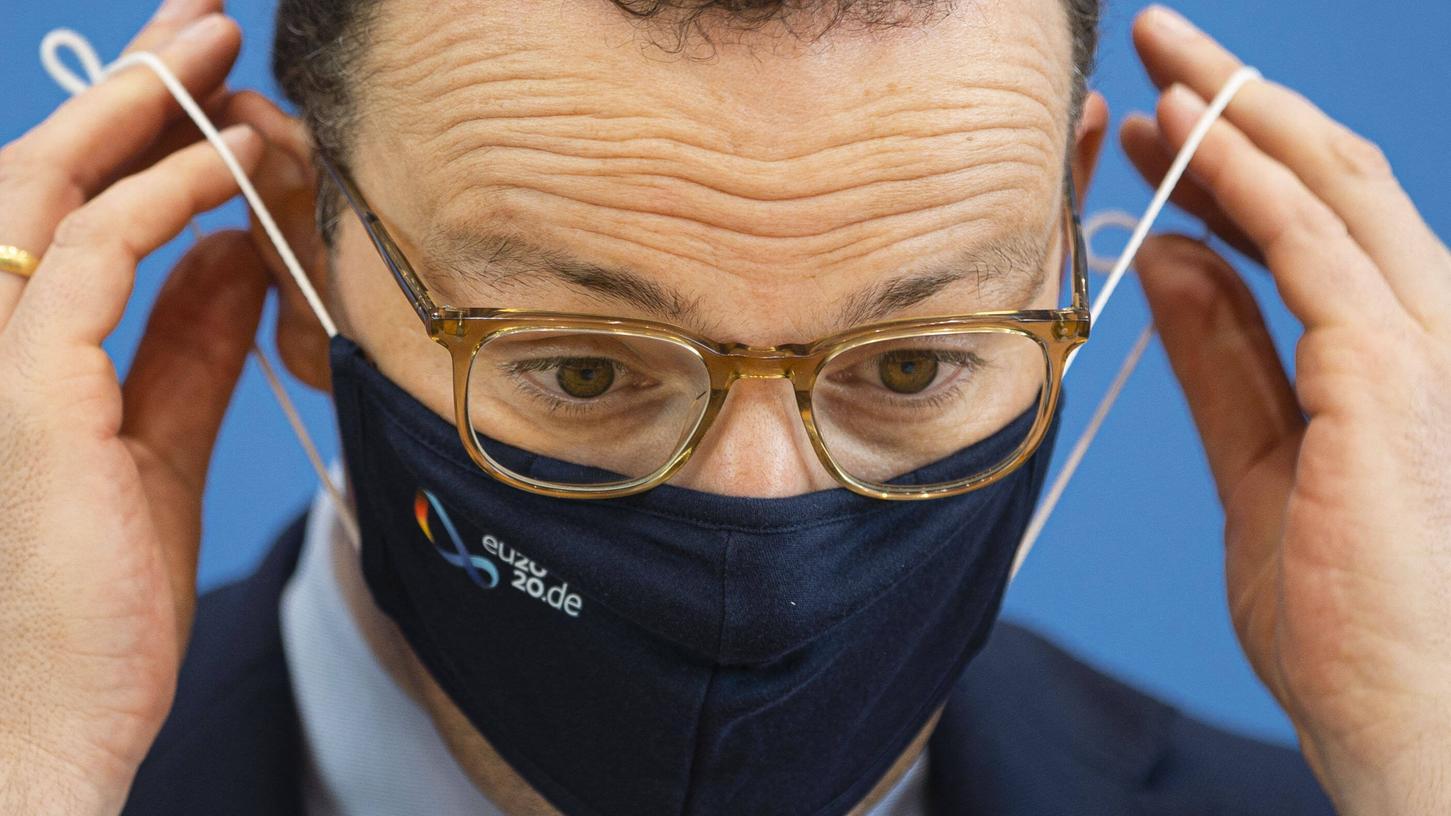 Jens Spahnweist Vorwürfe um Corona-Masken zurück.