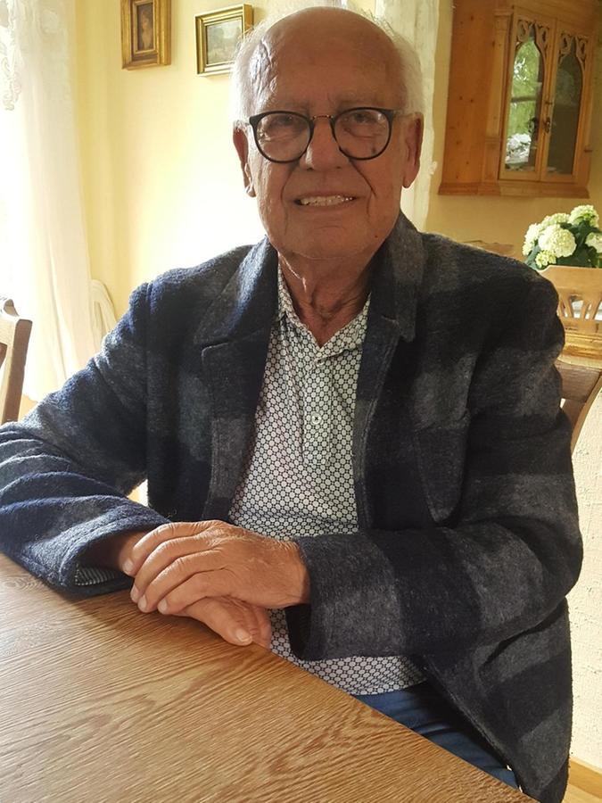 Manfred Ritschel mit 75 — die Erinnerungen sind geblieben.