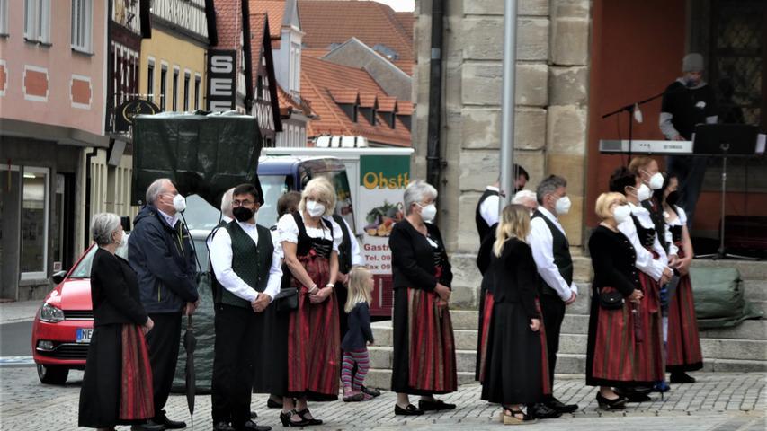 Festgottesdienst auf dem Neustädter Marktplatz