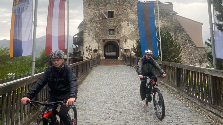 Ein beeindruckendes Bauwerk: Die Burg Oberkapfenberg. Nur die Auffahrt ist beschwerlich.