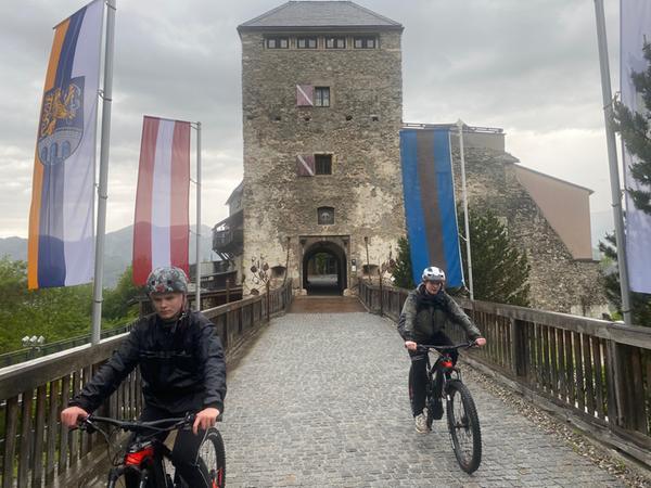 Die Burg in Oberkapfenbergist aus einem lange währenden Dornröschenschlaf geweckt worden und mittlerweile eine echte Sehenswürdigkeit.