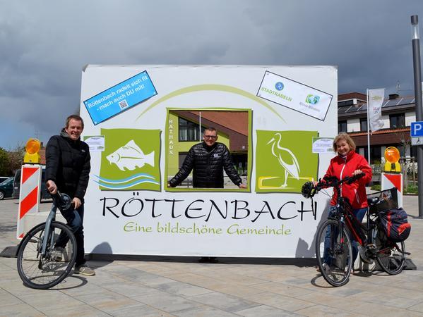 Die Gemeinde Röttenbach war heuer zum ersten Mal überhaupt dabei und konnte 2129 Kilometer erradeln.