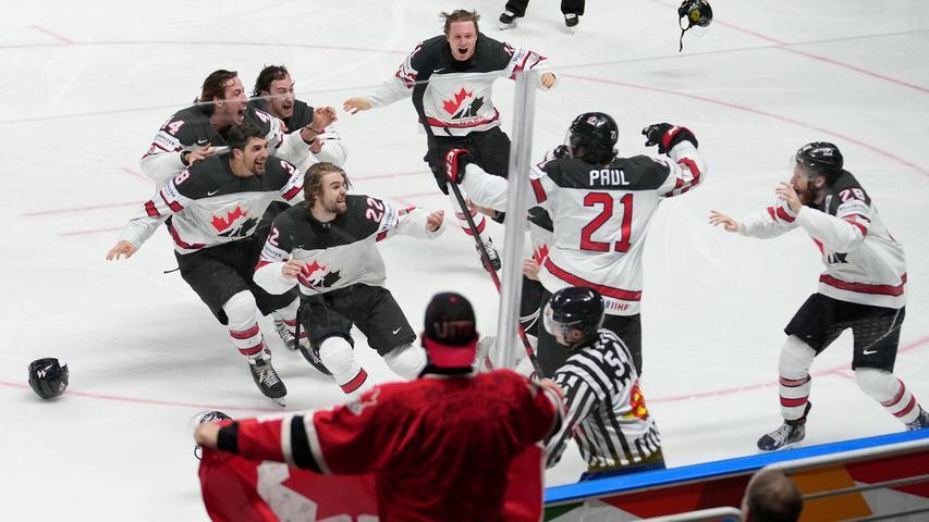 Kurz zuvor hat Nick Paul Kanada den 21. WM-Titel beschert. Und trotzdem fragt sich mancher im Mutterland des Eishockeys: Nick wer?