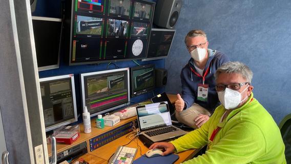 Bernd Schmelzer und Klaus Rogoll (re.) beim Trainingslager der Nationalmannschaft in Seefeld