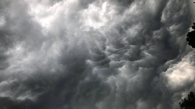 Wolken über Ansbach